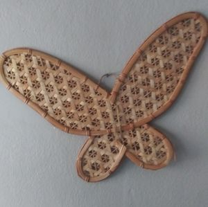 Vintage Butterfly Wall Art Large Hanging